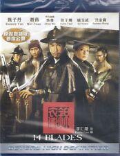 14 Blades Blu Ray Donnie Yen Sammo Hung Vicki Zhao Wei Wu Chun NEW Eng Sub