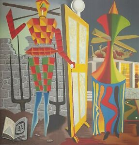 Man Ray, Le beau temps, Hand Signed Lithograph