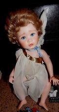 "Ellenbrooke Doll ""Sweet Cherub"" in original Box with Wrist Tag Letter & Flowers"