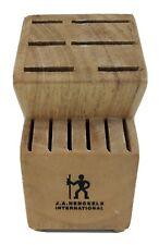 Zwilling J. A. Henckels International Knife Block 12 Slot Wood Safe Storage