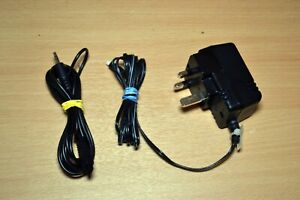 sennheiser NG 12 DC UK power supply and audio cable for Wireless headphones etc