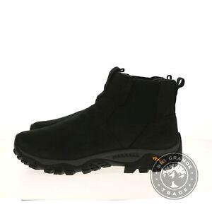NEW Merrell J61847W Men's Moab Adventure Chelsea PLR WP Boots in Black - 11.5 W