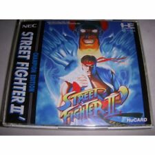 PC-Engine Street Fighter 2 II Dash Champion Edition Japan NEC