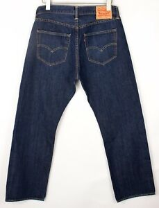 Levi's Strauss & Co Hommes 501 Jeans Jambe Droite Taille W36 L28 BEZ65