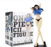 18cm One Piece Figure Toys Nico Robin Clothes Color Changeable Figurine PVC