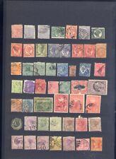 sehr alte exotische Briefmarken auf A4 Steckkarte weltweit 4