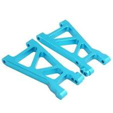 RC Himoto M606 Blue Alum Lower Suspension Arm 2P For 1/18 E18XBL Elcetric Buggy