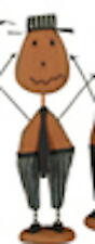 Pumpkin Patch Guy- Stripe Pants by Primitive by Kathy