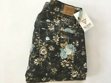 Guess Women's Kate Skinny Jeans Floral Print Size 24