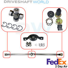 CV-Joint & Center Bearing & 2x U-Joints for Chev Equinox Captiva Saturn Torrent