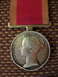 First China War Medal to 55th Regiment