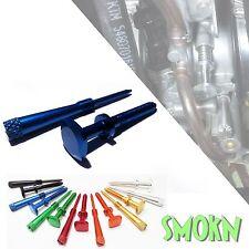 Yamaha YZ  250 Keihin PWK Easy Adjust Idle Screw & Air Screw Set - Blue Anodised
