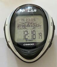 Polar  CS600CX   Speedometer TOP Zustand , schwarz / weiß   Worldwide shipping