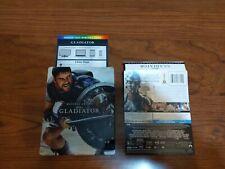 Gladiator 4K Uhd Steelbook + Blu-ray + Digital Russell Crowe