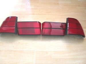 BMW E34 M5 5 SERIES ALL RED TAIL LIGHT FIT ALL E34 MODELS