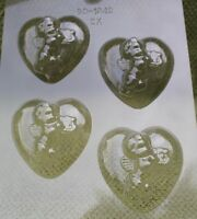 HEART CUPID VALENTINE CHOCOLATE CANDY MOLD MOLDS VALENTINE PARTY FAVORS