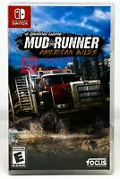 Spintires: Mudrunner - American Wilds Edition - Nintendo Switch - New
