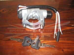 New Ignition Steering Lock and Switch Assembly MG MGB 1970-1973