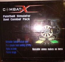 Combat-X Paintball Simulator Duel Combat Pack Reusable Ammo Makes No Mess