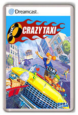 CRAZY TAXI SEGA DREAMCAST FRIDGE MAGNET IMAN NEVERA
