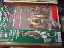 11µµ Revue Gloire & Empire n°3 1805 Austerlitz Wertingen Haslach Elchingen