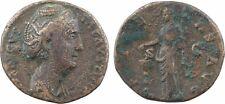 Faustine mère, as, Rome, 141, PIETAS AVG SC -24