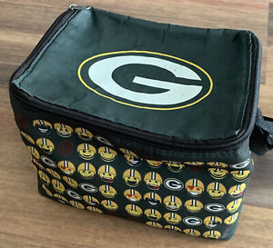 NFL Green Bay Packers Lunch Bag - Insulated Box Tote - 6-Pack Cooler