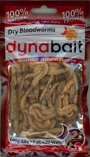Lot of 5 - DynaBait Freeze Dried Bloodworms Natural