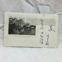 Vintage Postcard Fireproof Building Mohonk Lake New York 1904
