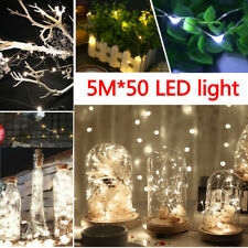 10M 100 LED AA Battery Micro Rice Wire Fairy String Chrismas Party Lights White