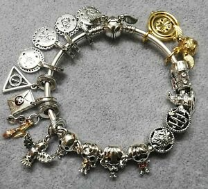 Pandora X HP alle 2019+2020 18 Harry Potter Charms und Armband s925 ALE