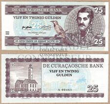 Curacao 25 Gulden 2016 UNC SPECIMEN Private Issue Test Note Banknote