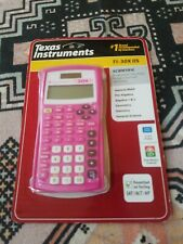 2 Texas Instruments Ti-30X Iis Scientific Solar Calculator Pink And Blue, New