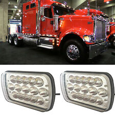 2pcs 45W LED Headlight 4500LM high low beam fit for International 9900ix 9900i
