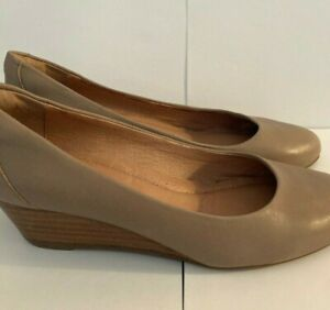 """Wittner Leather Wedges,size 35,size 5,Tan,""""Frankey"""""""