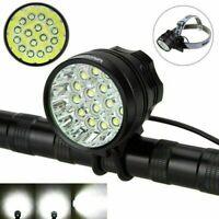 16x XML T6 Bike Lights Mountain Bike LED Cycling Headlight Headlamp Front Lamp