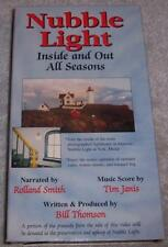 Nubble Light Inside and Out All Seasons VHS Video lighthouse York Maine