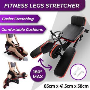Fitness Leg Stretcher Machine Gym Trainer Durable Thigh Stretching Training