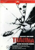 TRAUMA DVD Colin Firth Mena Suvari RARE MOVIE - Region 4 Australia PAL