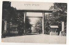 Shinto Shrine Sapporo, Japan Vintage Japanese Postcard