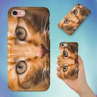 CAT ANIMAL PET HARD BACK CASE FOR APPLE IPHONE PHONE