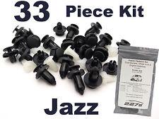 Clip garniture en plastique Kit pour HONDA JAZZ-Pare-chocs, passage de roue & undertray clip set