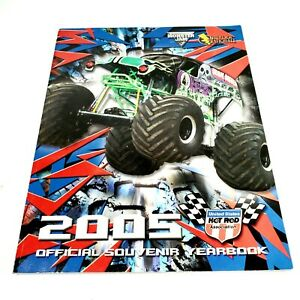 2005 Monster Jam Official Souvenir Yearbook United States Hot Rod Association