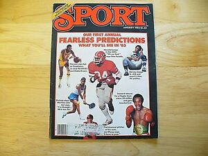 "Sport Magazine - January 1983 - ""Herschel Walker"" - VINTAGE"