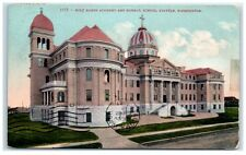1911 Holy Names Academy and Normal School, Seattle, Washington Postcard