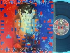Paul McCartney ORIG OZ LP Tug of war EX '82 Beatles Rock Pop Parlophone PCTP259