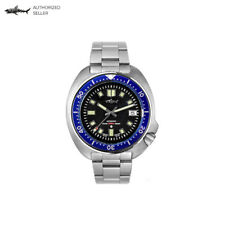 Heimdallr Sharkey Turtle Stainless Steel Diver Watch 6105 Homage 44 mm NH35A