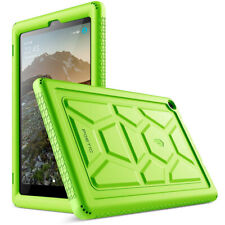 Amazon Fire HD 10 2019 Tablet Case,Poetic Soft Silicone Protective Cover Green