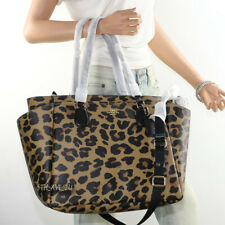 NWT Coach Leopard Animal Print Baby Bag Diaper Bag Multifunction Tote F87755 New