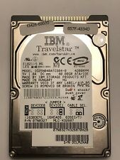 IBM Travelstar 40GB 2.5in IDE 9.5MM 4200RPM IC25N040ATCS04-0